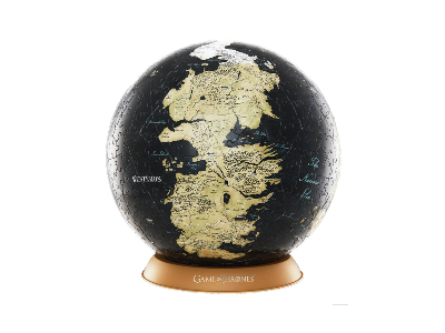 "GAME OF THRONES 4D 9"" GLOBE"