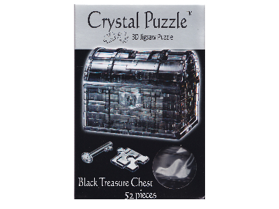 3D BLACK TREASURE CRYSTAL PUZZ