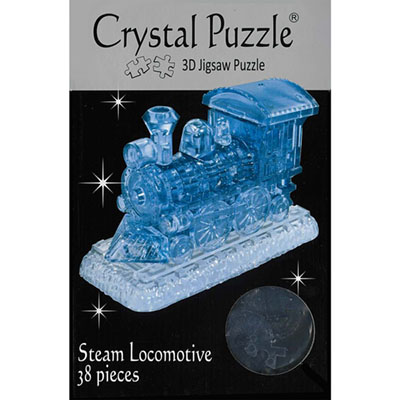 3D STEAM LOCO CRYSTAL PUZZLE