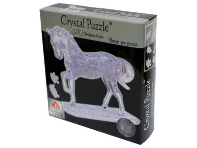 3D HORSE CRYSTAL PUZZLE