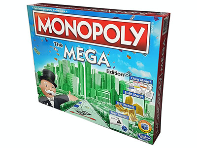 MONOPOLY - MEGA USA EDITION