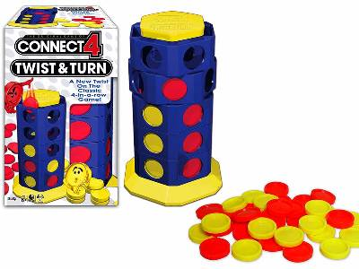 CONNECT 4 TWIST & TURN