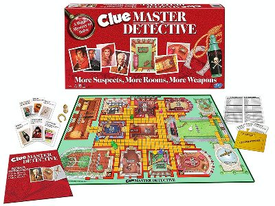 CLUE MASTER DETECTIVE