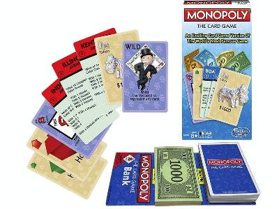 MONOPOLY THE CARD GAME