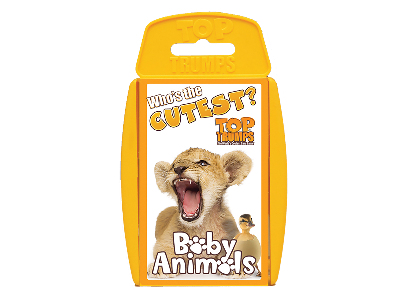 TOP TRUMPS BABY ANIMALS