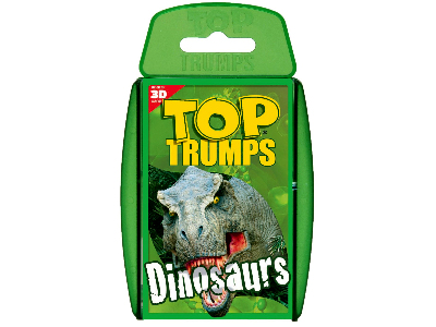 TOP TRUMPS DINOSAURS