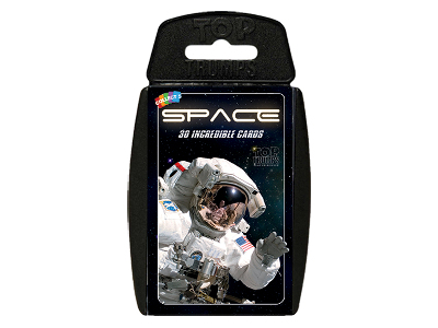 TOP TRUMPS SPACE