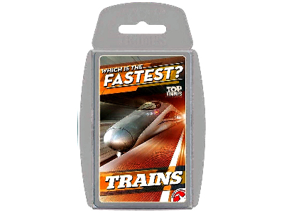 TOP TRUMPS FASTEST TRAINS
