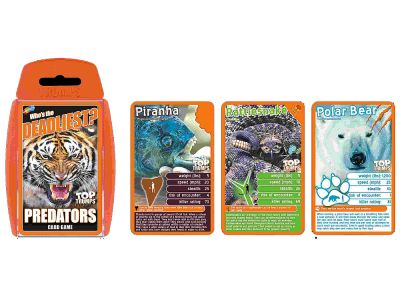 TOP TRUMPS DEADLIEST PREDATORS