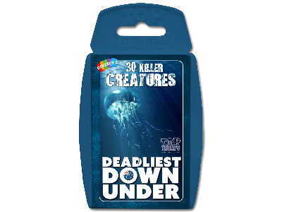 TOP TRUMPS DEADLIST DOWN UNDER