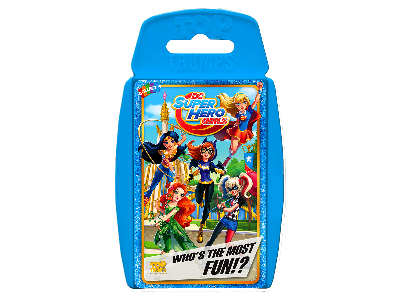 TOP TRUMPS DC SUPERHERO GIRLS