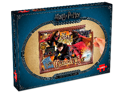 HARRY POTTER QUIDDITCH 1000pc