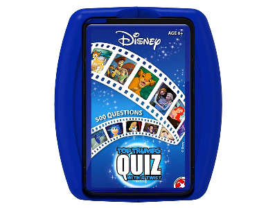 TOP TRUMP DISNEY QUIZ