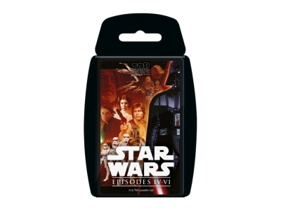 TOP TRUMPS STAR WARS EP IV-VI