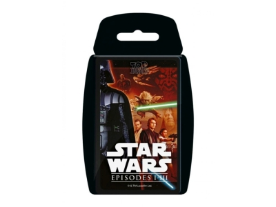 TOP TRUMPS STAR WARS EP 1-III