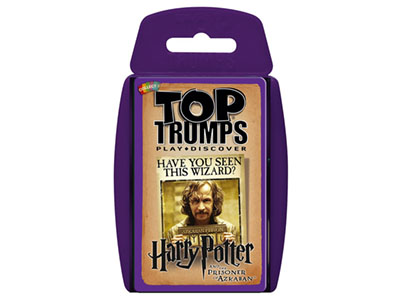 TOP TRUMPS HP PRISONER OF AZKA
