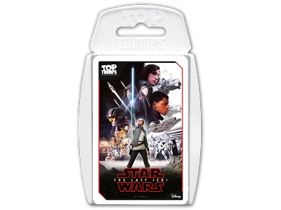 TOP TRUMPS STAR WARS LAST JEDI