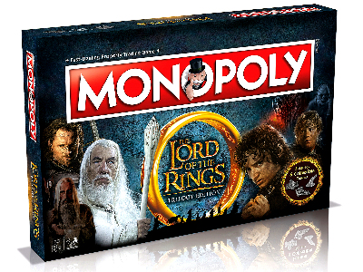 MONOPOLY THE LORD OF THE RINGS