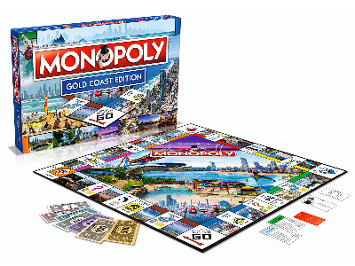 MONOPOLY GOLD COAST EDITION