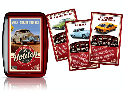 TOP TRUMPS HOLDEN HERITAGE COL