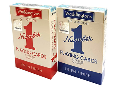 WADDINGTONS PLAYING CARDS NO.1