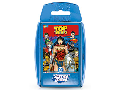 TOP TRUMPS JUSTICE LEAGUE