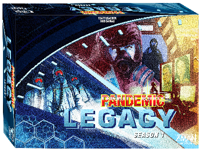 PANDEMIC LEGACY blue edition
