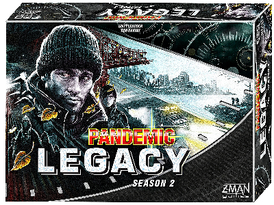 PANDEMIC LEGACY black edition