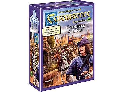 CARCASSONNE COUNT KING ROBBER