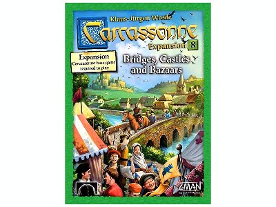 CARCASSONNE EXP 8. BRIDGES